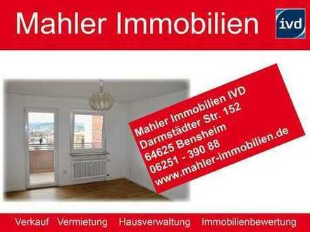 Wohnen mit Blick auf die Bergstraße – 3 ZKB Eigentumswohnung in Bensheim