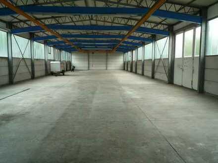 Lager- und oder Produktionshalle Werkstatt mit Büros u. Freifläche