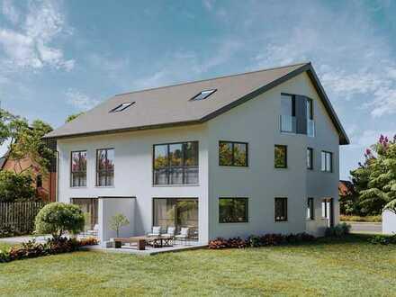 Provisionsfrei! Neubauvorhaben: 5-Zi. DHH mit Süd-West-Garten und Einzelgarage