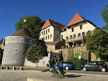 Görlitz Altstadt auf der Stadtmauer Neißeblick