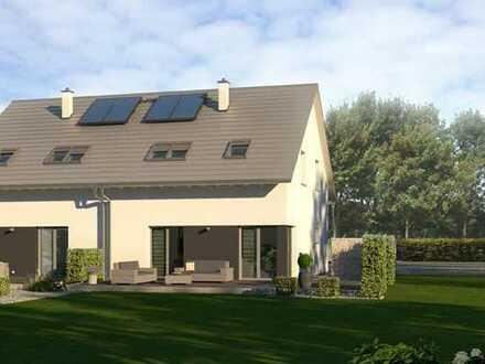 2-Generationenhaus oder Renditeobjekt, 2x132 qm, inkl. Grundstück und Bodenplatte, technikfertig