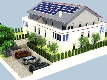 Paradiesisches Penthouse mit großer Dachterrasse und Aufzug - WE 2