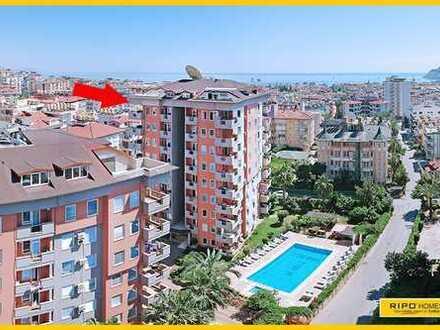 Luxuriöses Penthouse in Alanya-Zentrum mit Meer und Bergblick!