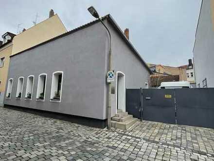 Baugrundstück für Mehrfamilienhaus -nähe Plärrer- mit Altbestand (Loft) zu verkaufen!