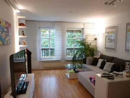 Buckenhof: helle 3-Zimmer-Gartenwohnung