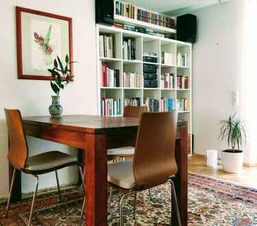 Zwischenmiete: Komfortable 2-Zimmer-Wohnung mit Einbauküche und Balkon in Nymphenburg, München