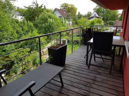 Gepflegte 3-Zimmer-Wohnung mit 2 Balkonen und EBK in Willstätt