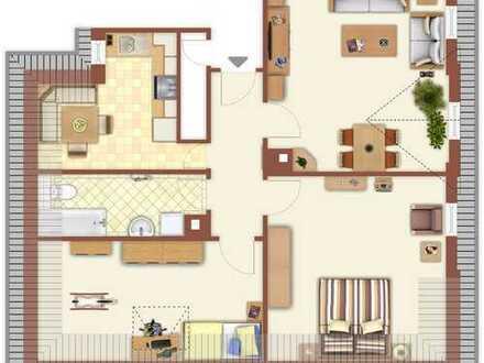 3-Zimmer-DG-Wohnungen mit EINBAUKÜCHE in Zentrum von Mühlacker