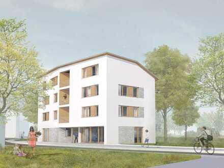 Erstbezug: freundliche 3-Zimmer-Wohnung mit Einbauküche und Loggia in Waren