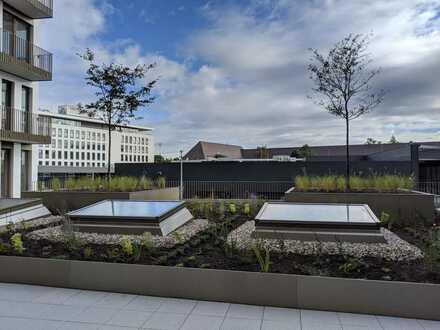Sehr moderne Büroräume in neu erbautem Gewerbegebäude zentral auf dem Flugfeld Böblingen