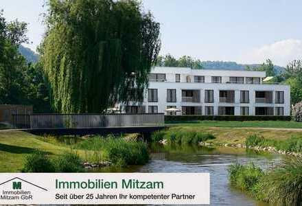 Wohncarré SULZPARK: Neubau 2-Zimmer-Obergeschoss-Wohnung in Traumlage von Beilngries (provisionsfrei