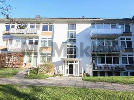 Rheinnähe: Sehr gepflegte 2-Zi.-Souterrain-ETW in Bonn-Plittersdorf
