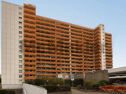 Top-Aussicht: Gepflegte, vermietete 1-Zimmer-Wohnung mit Balkon und TG-Stellplatz in zentraler Lage