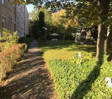 MA-Gartenstadt in begrünter Lage: Gemütliche Stadtwohnung mit Garage