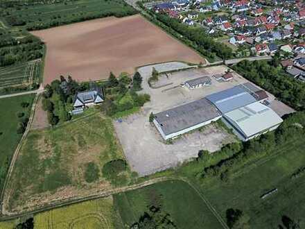 Rauenberg - 4.300 m² Lager- & Produktionsflächen - Nähe Walldorfer Kreuz A6 mit BImSchG Genehmigung