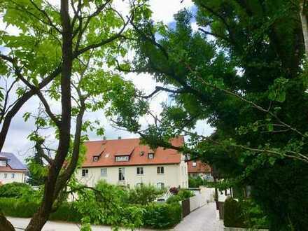Nach Süden ausgerichtete 3 Zimmer-Obergeschoss-Wohnung in zentrumsnaher Lage von Wangen