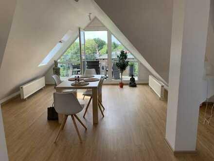 Erstklassige DG Wohnung nahe S- BHF. Lichterfelde West, möbliert, 1 Jahr, Verlängerung möglich