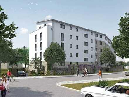 Großzügige 4-Zimmer-Wohnung mit Balkon, KfW-55