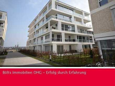 1. Monat mietfrei ! Geschmackvolle Neubau-Wohnung mit großer Terrasse in der Überseestadt