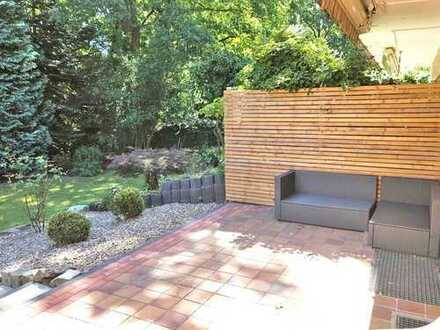 Erstbezug nach Sanierung: Hochwertig ausgestattete Wohnung mit eigenem Gartenanteil!