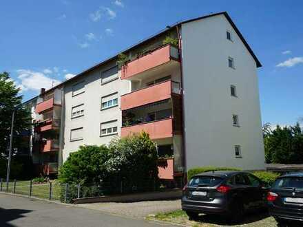 Speyer-West, gut geschnittene 3 ZKB-ETW mit Loggia
