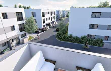 Alles auf einer Ebene - über den Dächern von Kaufbeuren - Penthouse mit Dachterrasse