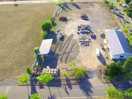 VIELSEITIG NUTZBAR ✓ NÄHE BAB ✓ Gewerbegrundstück (7.000 m²) mit Aufbauten zu verkaufen