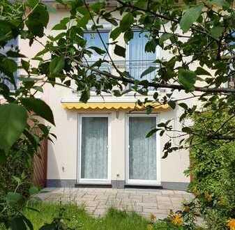 Reihenmittelhaus 103m², 5 Zimmer, Südwestgarten, Keller, ruhige grüne Siedlung