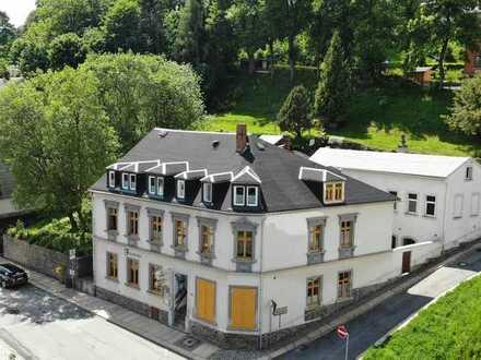 Schön saniertes 2-/3-Familienhaus mit Gaststätte & großem Grundstück (1.197 m²) in Annaberg-Buchholz