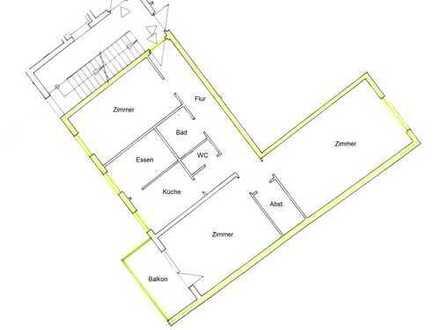 3,5-Zi-Wohnung mit S/W-Balkon in ruhiger, begrünter Lage - Nähe Wettersteinplatz, provisionsfrei