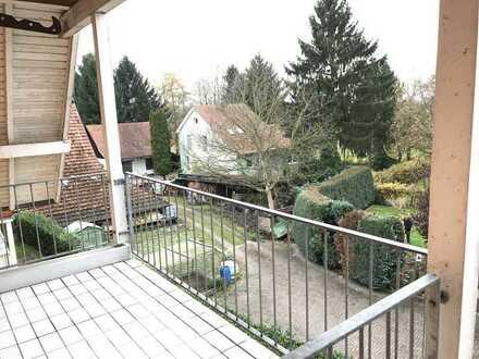 Achern - Mösbach - 3,5 Zimmer Wohnung im Dachgeschoss mit Loggia