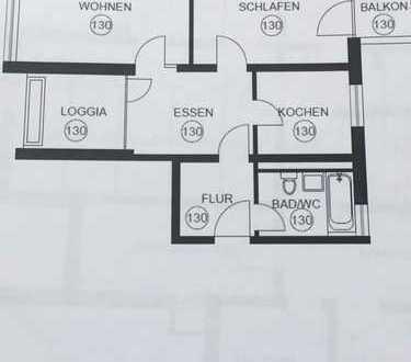 Gemütliche zwei Zimmer Wohnung in Großhadern ab 01.07 zu vermieten