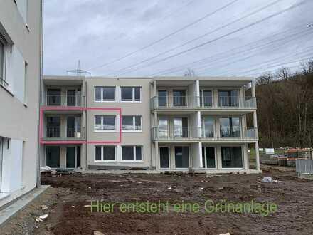73776 Altbach: Erstbezug In den Vogelwiesen 2-Zi-Wohnung mit Balkon / 1.OG / Aufzug TG-Stellplatz