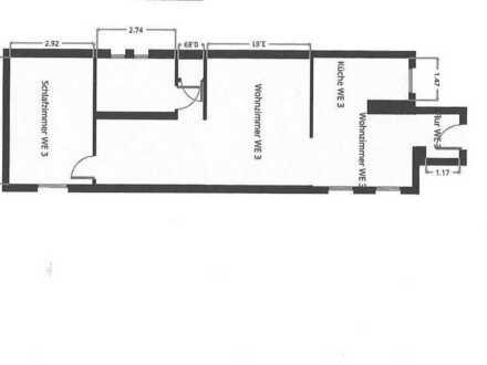 Großzügige 2-Zi. Wohnung in ruhiger stadtnaher Wohnlage