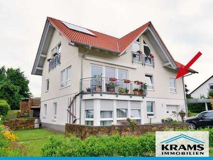 Leuchtend helle 3-Zimmer-Etagenwohnung in ruhiger Lage von Bodelshausen!