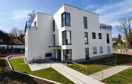 WE17/Hochwertige 2-Zimmer Neubau-Wohnung im Herzen Kraillings mit Süd-West Terrasse und Garten
