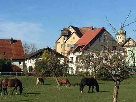 5-Zi.-Maisonettewohnung mit Studio in 3-Fam-Haus in Süßen. Ruhig und zentral im Ortskern