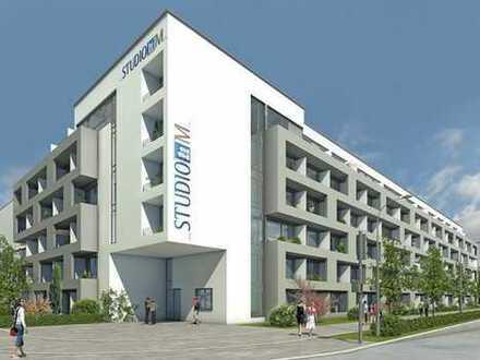 Studentenappartement, sehr hell, im 5. OG mit Dachterr., vollmöbliert
