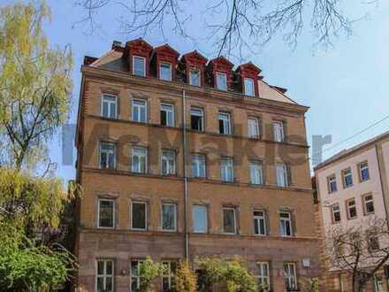 Rarität: Altbauwohnung in St. Johannis - wahlweise als eine oder zwei Wohnungen nutzbar