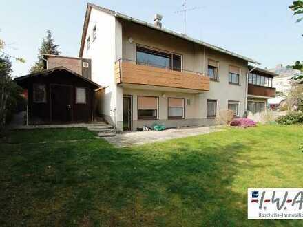 2 bis 3- Familienhaus in ruhiger Lage; Hertingshausen nahe Sportzentrum - ab sofort frei zum Bezug -