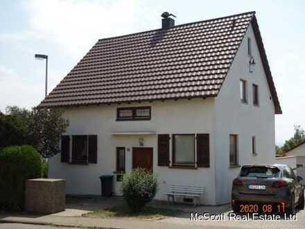 Geräumiges Einfamilienhaus mit großer Werkstatt HBG - Affstätt