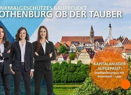 Traumhafte 2,5 Zimmer Wohnung mit Wintergarten im 2. OG in Rothenburg ob der Tauber!