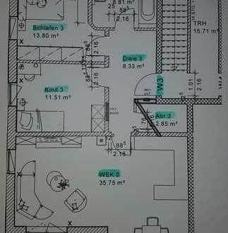 Erstbezug: schöne 3-Zimmer-OG-Wohnungen in Karlshuld