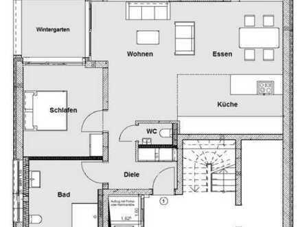 Souterrain-Wohnung in gehobener Neubau-Qualität in Bergisch Gladbach-Moitzfeld