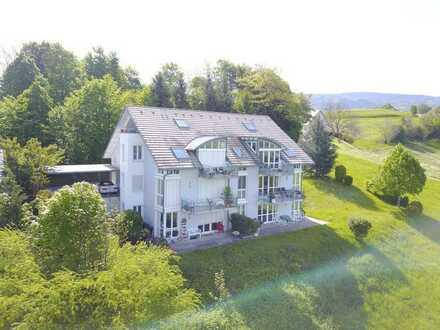 Wohnen wie im Urlaub, mit herrlichem Panoramablick in Horben