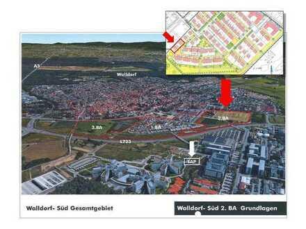 Zwei Wohn-/Baugrundstücke in Walldorf, Baugebiet Walldorf-Süd II