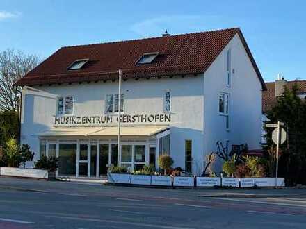 TOP Mehrfamilienhaus mit Gewerbeeinheit in Gersthofen - neben Schulzentrum -