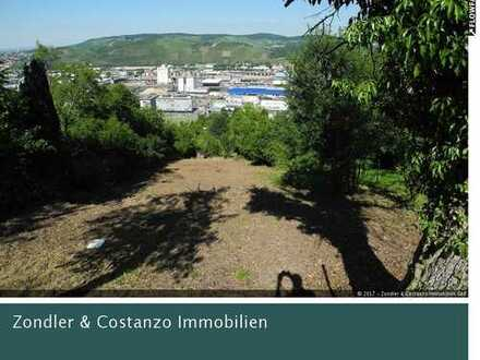 TOP ANGEBOT: Gartengrundstück in Hanglage mit tollem Blick *Holzschuppen*
