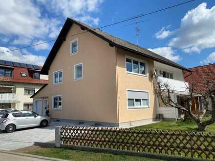 Vollständig renovierte 3,5 Zimmer-Wohnung mit Süd-Balkon in Reisen
