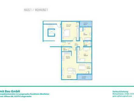 Drei Zimmer EG-Wohnung H1W1